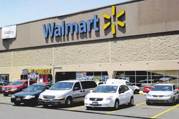 Local de Walmart. Foto: AFP.