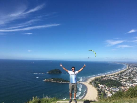 Fabricio se fue a Nueva Zelanda en 2017