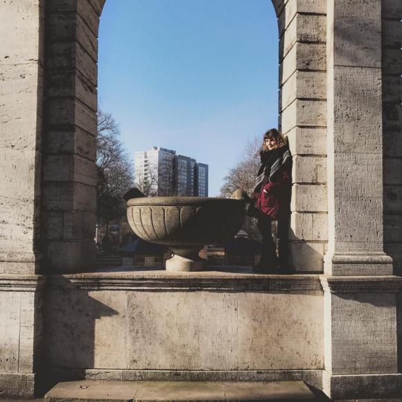 Laura trabaja como guía turística en Berlín