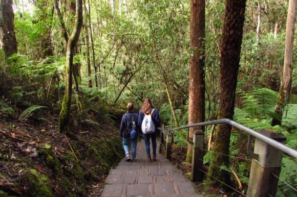 María Inés y María Eugenia son amigas y se fueron juntas a Australia