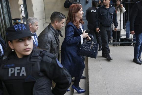 Cristina Fernández de Kirchner. Foto: La Nación/GDA.
