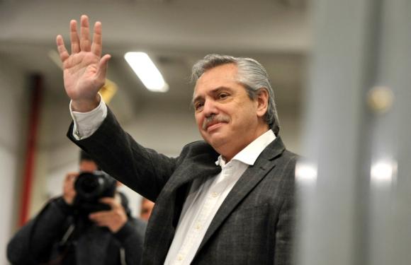 Alberto Fernández, candidato a la presidencia en Argentina. Foto: EFE