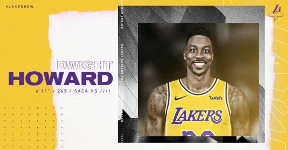 Dwight Howard lucirá la camiseta 39 en Los Lakers