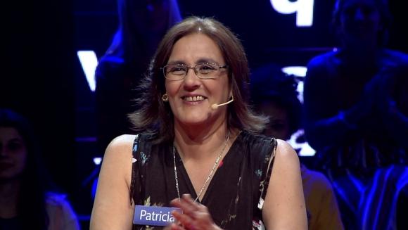 Patricia Scalone se convirtió en la primera ganadora del Rosco de Pasapalabra. Foto: Gentileza Canal 10