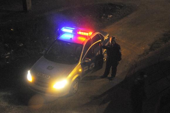 Patrullero de policía de Montevideo. Foto: Archivo El País
