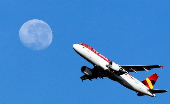 Avión de Avianca. Foto: EFE