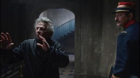 """El director Roman Polanski durante la filmación de """"J' Acusse"""". Foto: Difusión"""