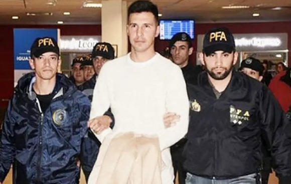 Jonathan Fabbro detenido