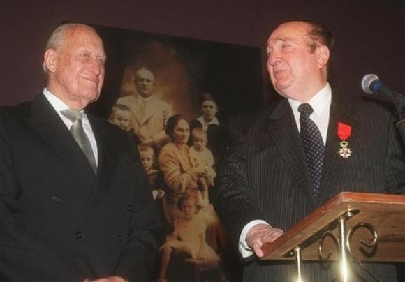 Nicolás Leoz y Joao Havelange. Foto: Archivo El País