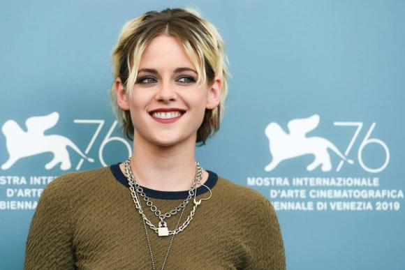 Kristen Stewart en el Festival de Cine de Venecia, 2019. Foto: AFP