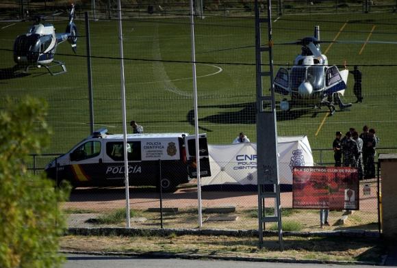 Encuentran el cuerpo de Blanca Fernández Ochoa en la sierra de Madrid. Foto: Reuters.