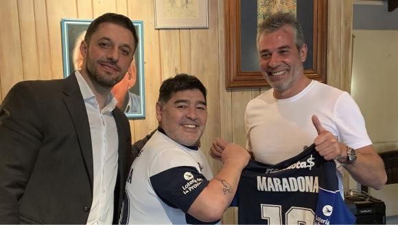 Diego Maradona en Gimnasia de La Plata