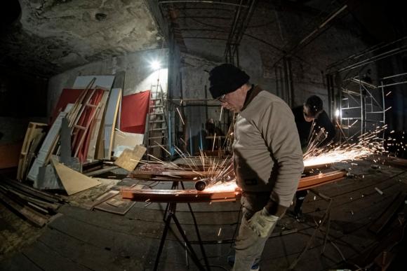 Reconstrucción del Teatro Odeón