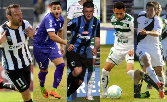 Wanderers, Defensor, Liverpool, Plaza Colonia y Danubio