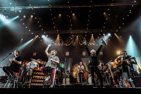 Auténticos Decadentes en el Auditorio del Sodre, 2019. Foto: Mauricio Rodríguez