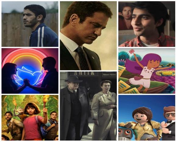 Playmobil la película, El libro de Lila, La música de mi vida, Dora y la Ciudad perdida, Presidente bajo fuego, Solos en Berlín, Divino amor y Ciervo, los estrenos