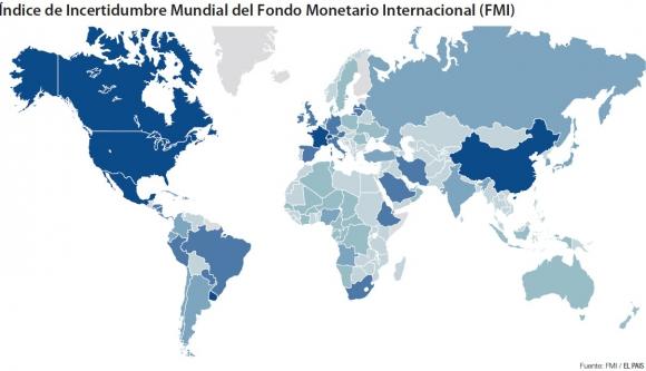 Índice de incertidumbre mundial del Fondo Monetario Internacional