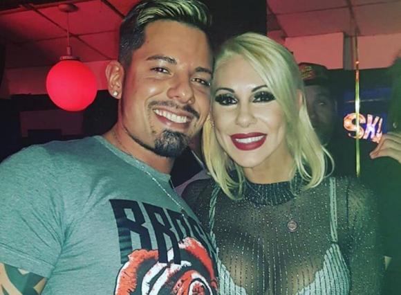 Mónica Farro y Leandro Herrera