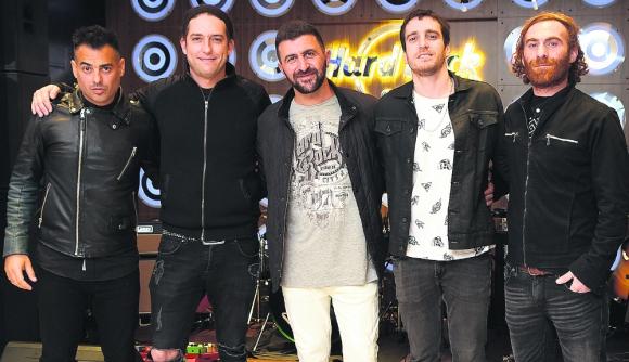 La banda uruguaya Snake, 2019. Foto: Leonardo Mainé