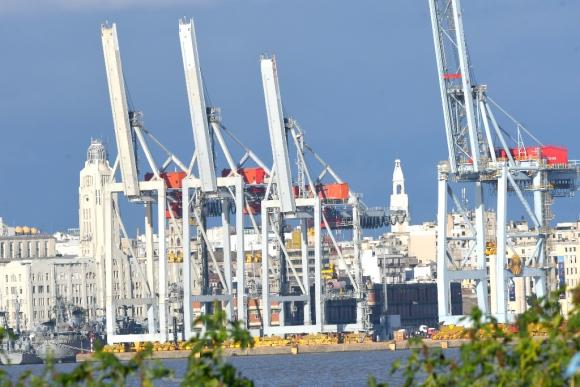 Puerto de Montevideo. Foto: Gerardo Pérez