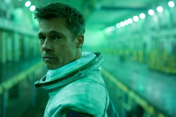 """Brad Pitt en la película """"Ad Astra"""". Foto: Difusión"""