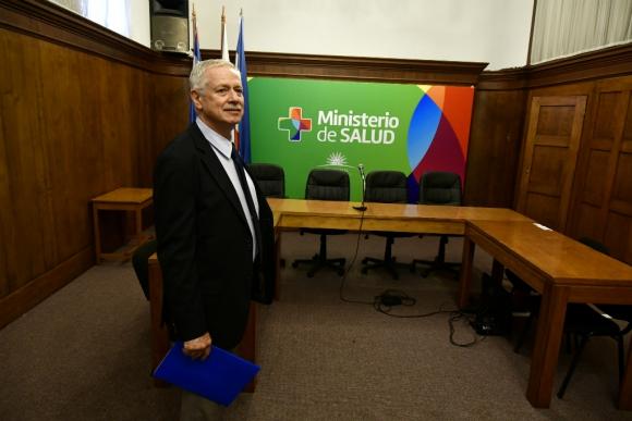 Jorge Basso, ministro de Salud Pública. Foto: Fernando Ponzetto