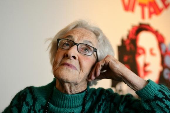 Ida Vitale en el Centro Cultural de España, 2019. Foto: Marcelo Bonjour