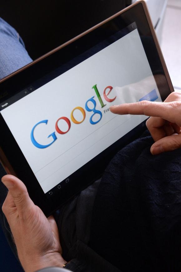 Google. Foto: AFP