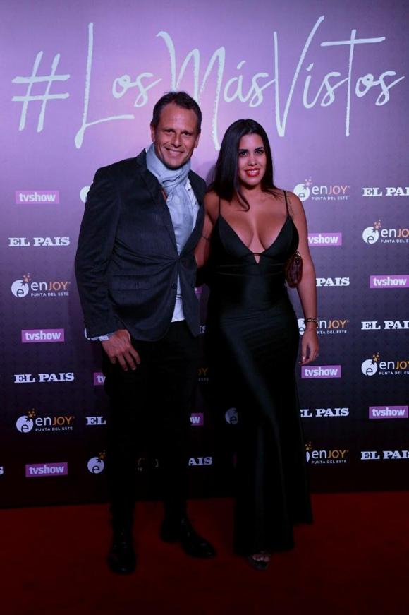 Jorge Lenoble y Caren Viñotti