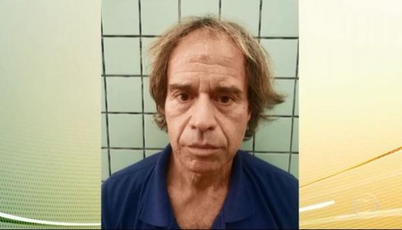Daniel Puccio, detenido este lunes en Itú, interior de Sao Paulo. Foto: TV Globo