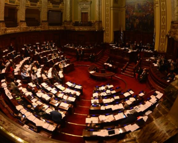 Parlamento Uruguay. Foto: Gerardo Pérez