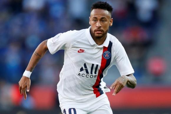 Neymar en el último partido del PSG. Foto: Reuters.