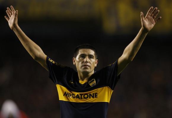 Juan Román Riquelme. Foto: Archivo/AFP.
