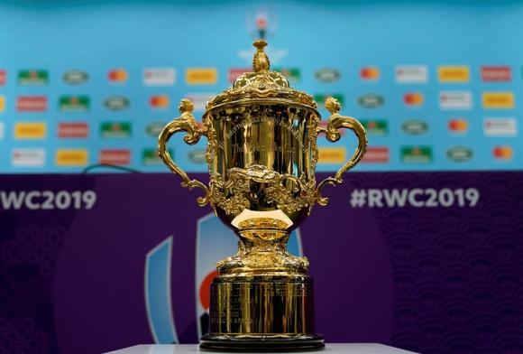 La Copa Webb Ellis se pone en juego y Nueva Zelanda quiere retenerla. Foto: EFE.