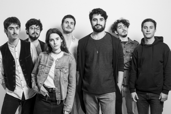 La banda Salandrú. Foto: Joaquín Méndez