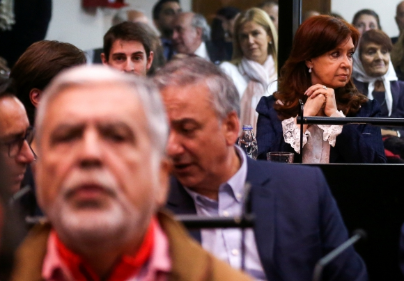 Cristina de Kirchner. Foto: Reuters.