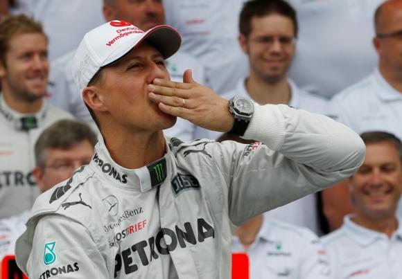 La familia de Michael Schumacher mantiene las esperanzas. Foto: AFP