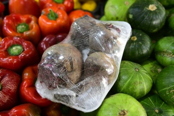 Frutas empaquetadas