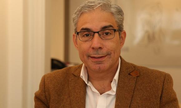 Robert Silva, candidato a vicepresidente por el Partido Colorado. Foto: Delfina Milder
