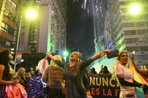 Marcha por la Diversidad 2019. Foto: Marcelo Bonjour