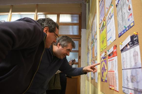 Listas electorales. Foto: Leonardo Mainé.