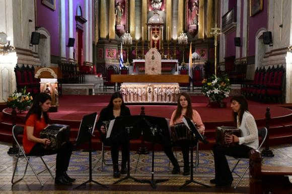 Las Bandoneonas en Montevideo Tango 2019. Foto: Francisco Flores