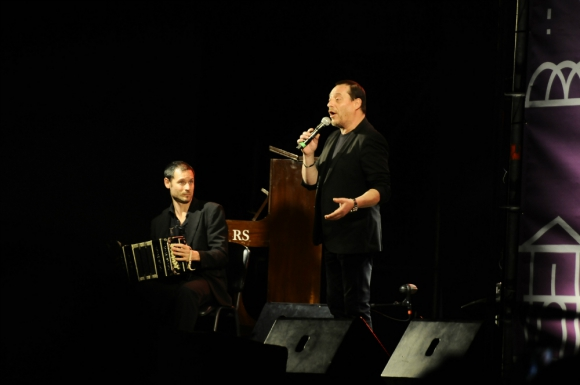 Ricardo Olivera en Montevideo Tango 2019. Foto: Darwin Borrelli