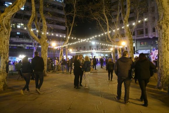 Plaza Matriz en Montevideo Tango 2019. Foto: Marcelo Bonjour