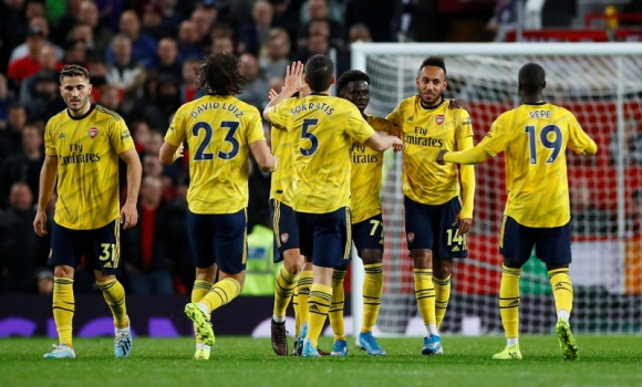 Arsenal 1- 1 Manchester United. Foto: Reuters.