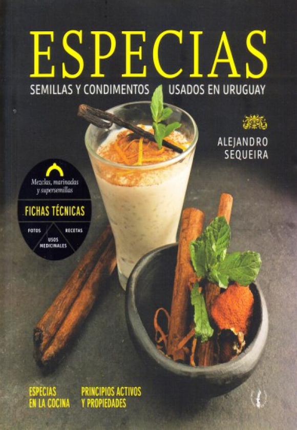 """""""Especias"""", el libro de Alejandro Sequeira fue distinguido en los Gourmand. Foto: Archivo"""