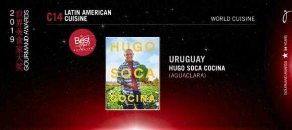 """""""Hugo Soca Cocina"""", premiado este año en los Gourmand. Foto: Difusión"""