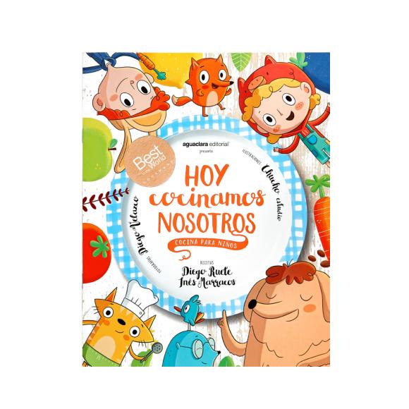 """""""Hoy cocinamos nosotros"""" de Diego Ruete e Inés Marracos, con premio Gourmand. Foto: Difusión"""