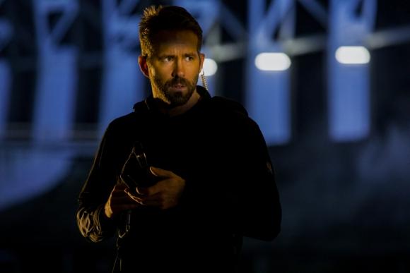 "Ryan Reynolds en ""Escuadrón 6"", la película de Netflix. Foto: Christian Black/Netflix"