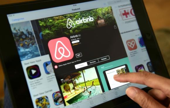Airbnb. Foto: AFP